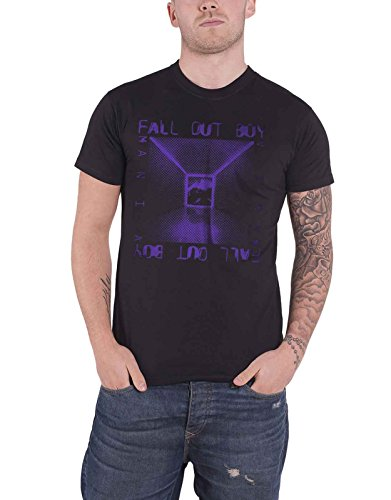 Fall Out Boy T Shirt Mania Album Cover Dots Logo Design Offiziell Herren Nue Fall Out Boy-shirt