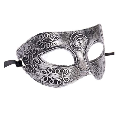 iYmitz Retro römische Gladiator Halloween Party Gesichtsmaskerade ()