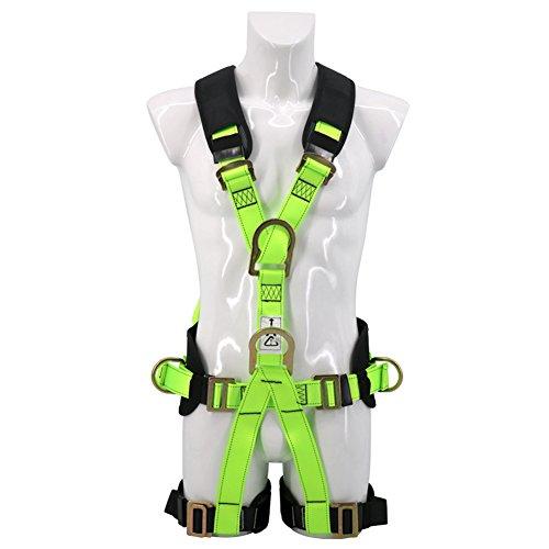 LAIABOR Auffanggerät Sitzgurt Polyester Gürtel/Elektriker Hohe Höhe Ganzkörper Sicherheitsgurt
