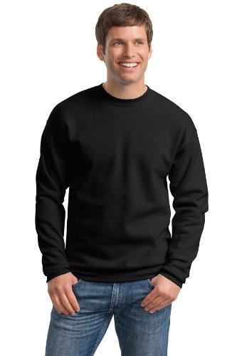 Hanes Comfortblend Langarm Fleece Crew, schwarz, P160 S (Hanes Schwarz Crew Sweatshirt)