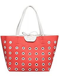 PATRIZIA PEPE BORSA/BAG 2V6379A1ZR H2I7 Coral Red/White