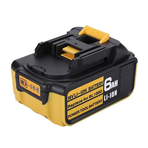 VBESTLIFE 18 V Ersatzbatterie Lampe,Gummi,Für MAKITA BL1830 BL1840 BL1850 BL1860.(BL1840) -