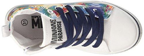 MINIONS S17955iaz, Baskets Basses Garçon Bianco