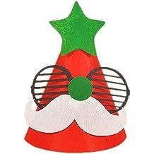 DaoRier 1pc Regalo de la decoración de la Navidad Tapa de las Cornamentas  del Casquillo de f00a6ec9698