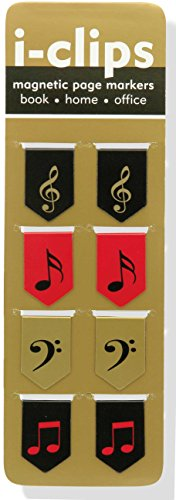Music I-Clips Magnetic Page Markers