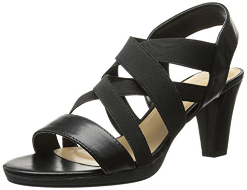 Bella Vita Leeza II Synthétique Talons Blk-Stretch