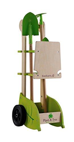 EverEarth Gartenkarre mit Geräten EE33711