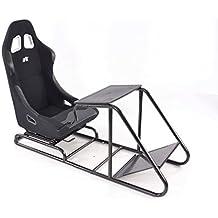 Game Seat für PC und Spielekonsolen Stoff schwarz