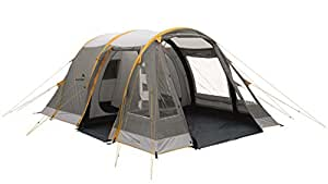 Easycamp Waterproof Tempest Unisex Outdoor Tunnel Tent available in Grey and Silver - One Size