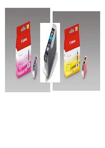 3 Original Canon Druckerpatronen für Canon Pixma IP 4300 IP4300