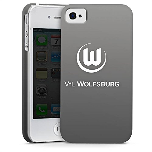 Apple iPhone SE Silikon Hülle Case Schutzhülle Vfl Wolfsburg Fanartikel Wölfe Bundesliga Premium Case glänzend