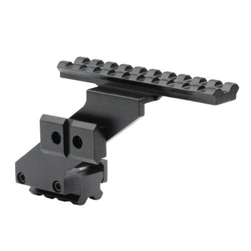 VERY100 Softair / Airsoft AK Montage aus Metall (Rail-taschenlampe)