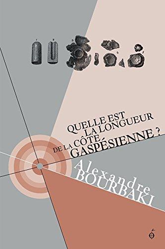 Couverture du livre Quelle est la longueur de la côte gaspésienne?