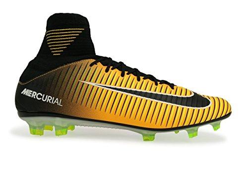 Nike Herren Mercurial Veloce Iii Df Fg Fußballschuhe LASER ORANGE/BLACK-WHITE-VOLT
