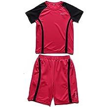 WEISHILI Conjunto Deporte fútbol niño  Short de Fútbol y Camiseta de fútbol.  Colores f99f9c323e048