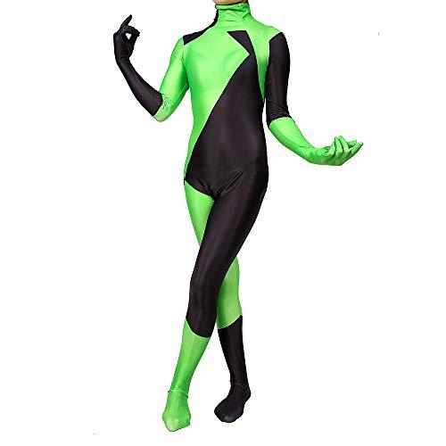 Kind Erwachsener Cosplay Kostüm Superhelden Halloween Mottoparty Onesies 3D Druck Spandex Strumpfhosen,Adults-XL ()