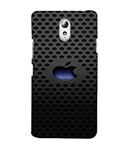 For Lenovo Vibe P1M :: Vibe P1m Dotted Pattern, Black, Lovely Pattern, Beautiful Pattern, Printed Designer Back Case Cover By CHAPLOOS