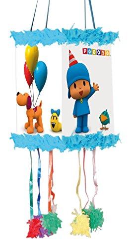 Pocoyo - Piñata viñeta fiesta, 20x30 cm (Verbetena 016000377)