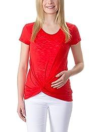 bellybutton Damen T-Shirt Stefani - T-shirt 1/4 Arm