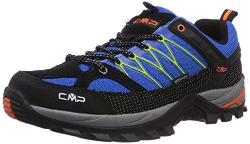 hundeinfo24.de CMP Rigel, Herren Trekking- & Wanderhalbschuhe, Blau (Vela M867), 42 EU
