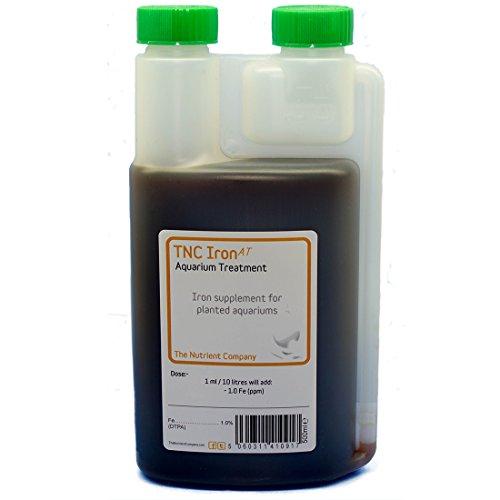 TNC - Iron (AT), trattamento fertilizzante per piante da acquario, aggiunge elementi nutrienti all'acqua