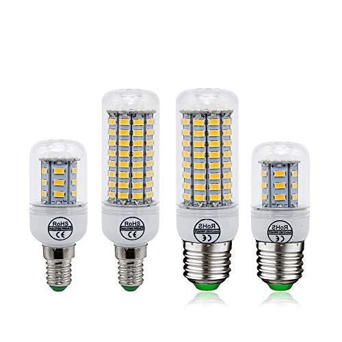 GGSSYY-JNDP 2ocs E27 E14 LED Corn Bulbo SMD 5730 Luci di Candela 220 V Decorazione della Casa Lampada per Lampadario Faretto 12 24 36 48 56 69Leds