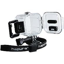 Hapurs Accesorios Carcasa protectora estuche impermeable para GoPro Hero 4 session 5 session, ideal para el buceo