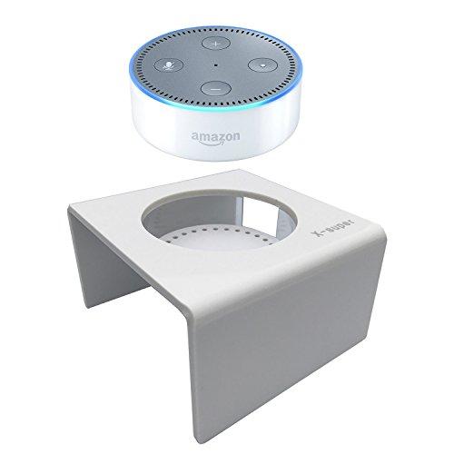 x-super Acryl Lautsprecher Ständer für Amazon Echo Dot (zweiter Generation) Smart Home Décor Guard Station für Alexa Volle Funktion Zweiten Station Mikrofon