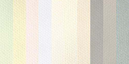 CANSON mi-teintes 48,3x 63,5cm Pastell Tabelle, 10Stück, Pastell-Farben (C707-3079) -