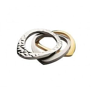 Breil - TJ072054 - Bague Femme - Acier / IP gold - T 54