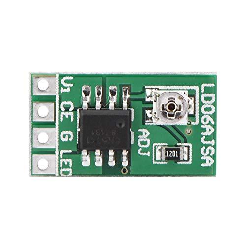Leistungswandler, LED-Treiber 30-1500mA Einstellbares Konstantstrom-Modul für LED 18650 Li-Ion