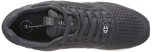 Champion Herren Low Cut Shoe Legacy Nylon Embo Laufschuhe Grau (Phantom ES503)