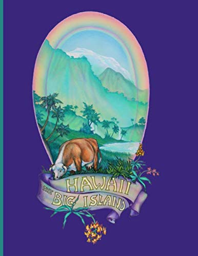 """Hawaii The Big Island: Composition Holiday Notebook for Travelers, Students, Teachers, Artists or anyone who loves Hawaii . This Notebook is  8.5"""" X  11"""" with 110 college lined pages."""