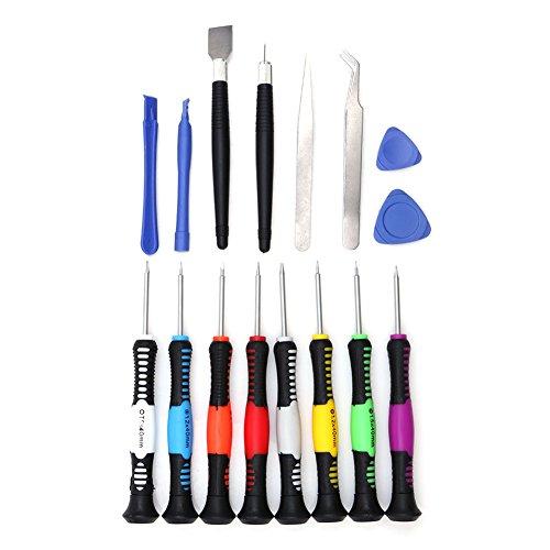 Preisvergleich Produktbild Demiawaking 16 in 1 Handy Reparatur Werkzeuge Schraubendreher Set für iPad4 iPhone 6 P