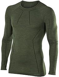 FALKE Herren Wool Tech Longsleeve Shirt Comfort Unterwäsche
