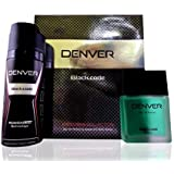 Denver Black Code Gift Box For Men (Perfume 60 ML + Deodorant 150 ML)