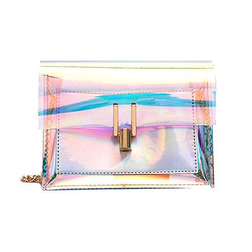 OIKAY 2019 Frauen Tasche Handtasche Schultertasche Umhängetasche Mode Neue Handtasche Damen Umhängetasche Schultertasche Transparente Strand Elegant Tasche Mädchen 0220@023