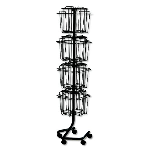 Cheapest Safco A4 Pocket Rotating Floor Standing Display Unit