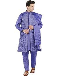 Sonstige Herrenmode Atasi Herren-kurta-pyjama Lang Grün Lässig Bollywood Ethnischen Hemd Gesetzt