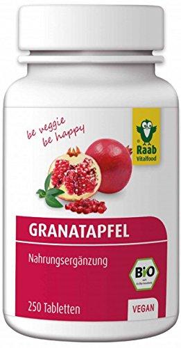 Raab Bio Granatapfel Tabletten 250St.