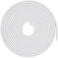Vococal - 5m Protector de Puerta de Coche, Guarnición de la Goma Borde Cinta del Protector del Sello de la guarnición Molding para la mayoría de los Coches Prevenir Nicks Rasguños Dents (Blanco)