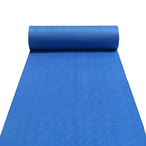 LCM Floor Carpet Runner Carpet Runner für Hall Stair Party Hochzeit Hochzeiten Aisle Carpet Runner Echtes Blau (Color : Blue, Size : 1M*20M)