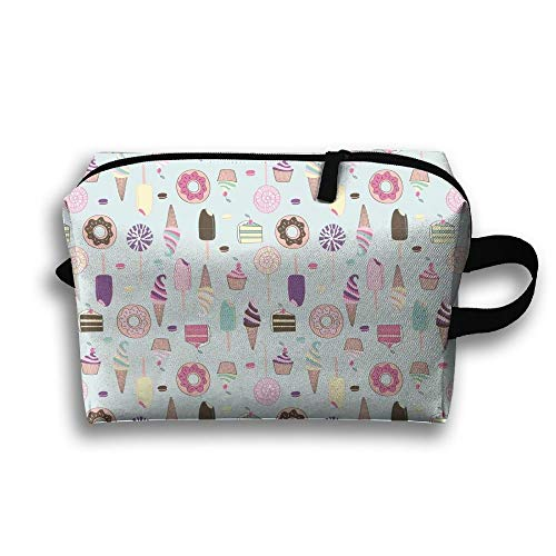 Candy Cakes Travel Cosmetic Bag Make-Up Bags Stationery Holder (Candy Cotton Holder)