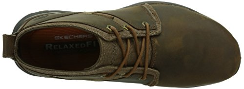 Skechers Artifact Lutador Herren Sneakers Braun (Cdb)