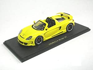 Spark Model 1/43 Gemballa Mirage GT 07 Amarillo (S0720) (Japan Import)