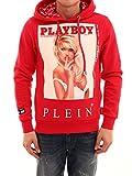 Philipp Plein Herren Mjb0832pjo002n13 Rot Baumwolle Sweatshirt