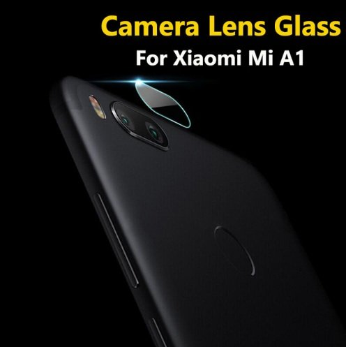 Shockware Back Rear Camera Lens Screen Protector 2.5D Tempered Glass Compatible With Xiaomi Mi A1