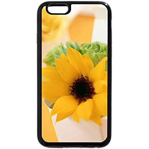 iPhone 6S / iPhone 6 Case (Black) Boxed Sunflower - Casa Boxed