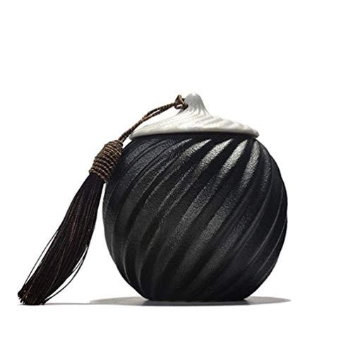 MYXMY Athen Messing Feuerbestattung Urne für menschliche Asche - Erwachsene Beerdigung Urne Handarbeit - erschwingliche Urne für Asche - große Urne Deal (Size : L) -