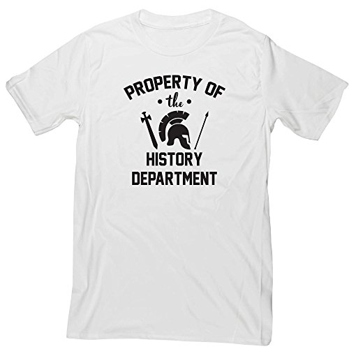 Hippowarehouse Property of The History Department Unisex Short Sleeve t-Shirt (Specific Size Guide in Description)